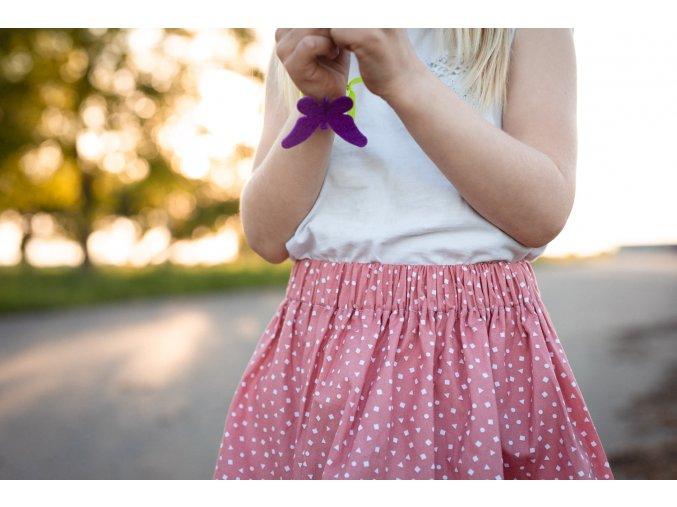 Dětská letní sukně