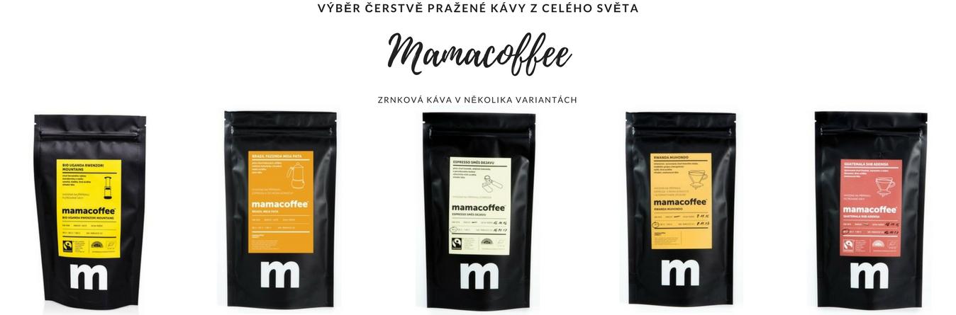Mamacoffee čerstvá káva