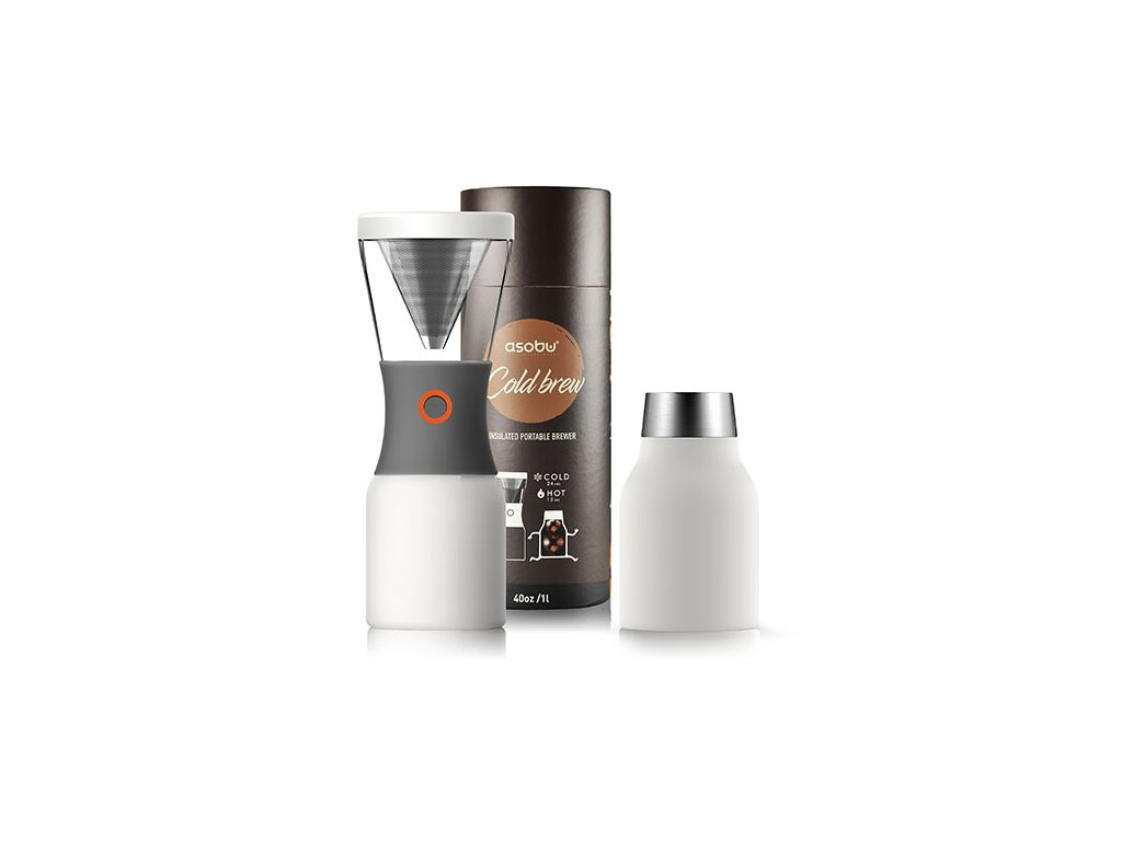 Asobu Cold brew kávovar na ledovou kávu bílý