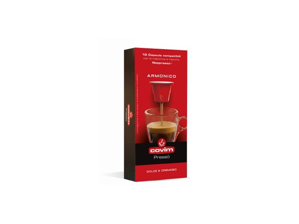 kapsle covim granbar pro nespresso 10 porci