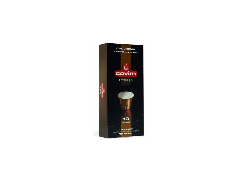 kapsle covim orocrema pro nespresso 10 porci