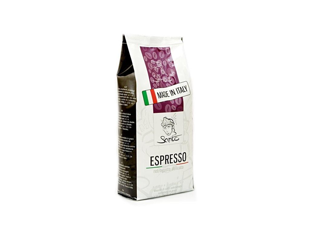 zrnková káva sarito espresso 1kg