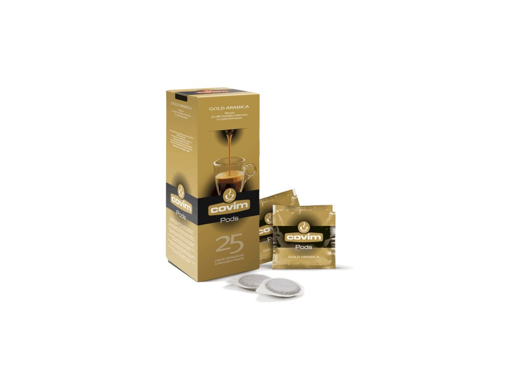 ese pody kava covim gold arabica 25 porci