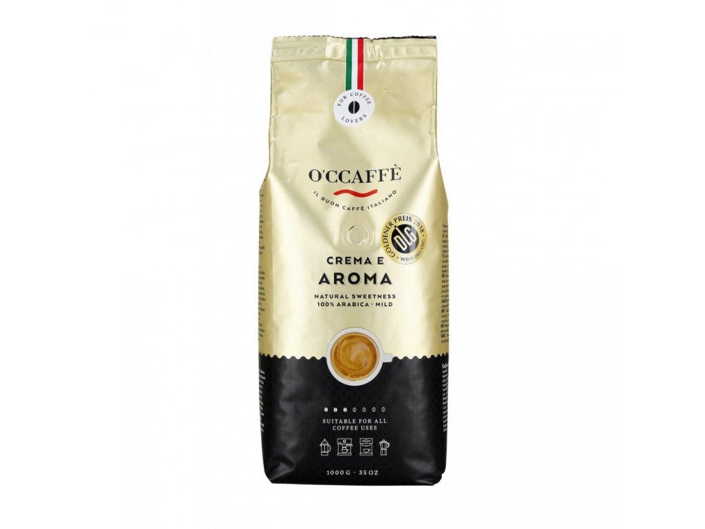 zrnkova kava o ccaffe crema e aroma 100 arabika 1 kg
