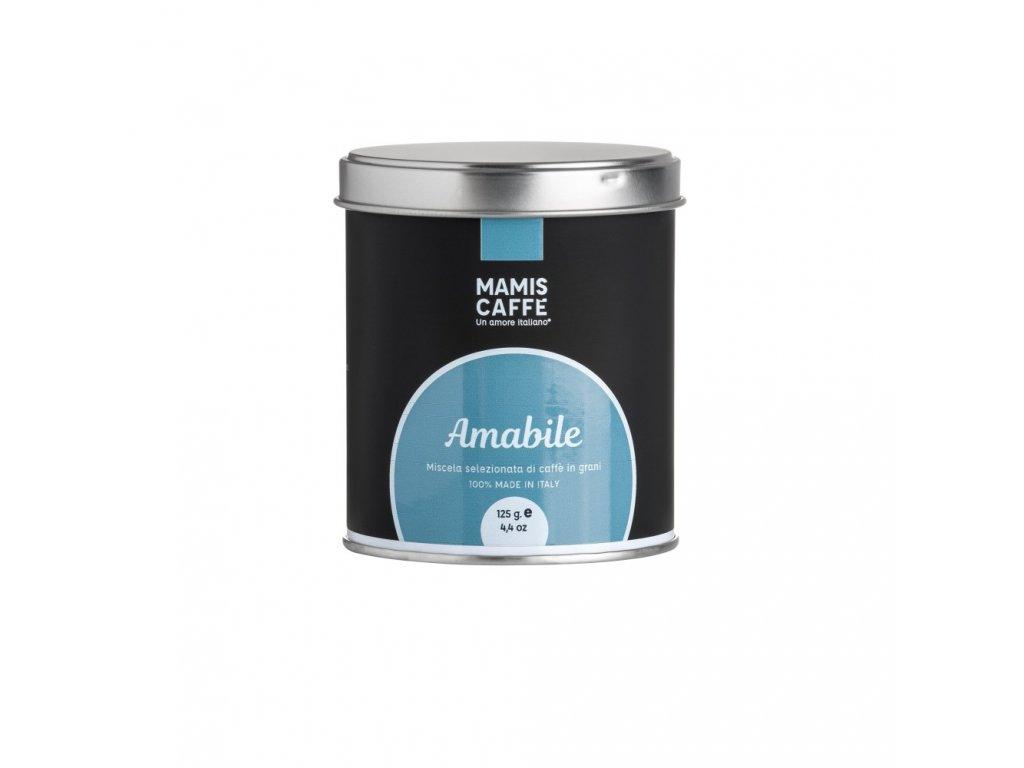 zrnkova kava mami s caffe amabile 125 g doza