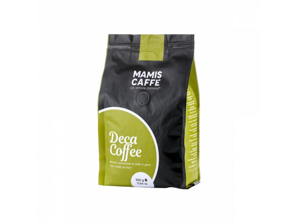zrnkova kava mami s caffe bezkofeinova 500 g