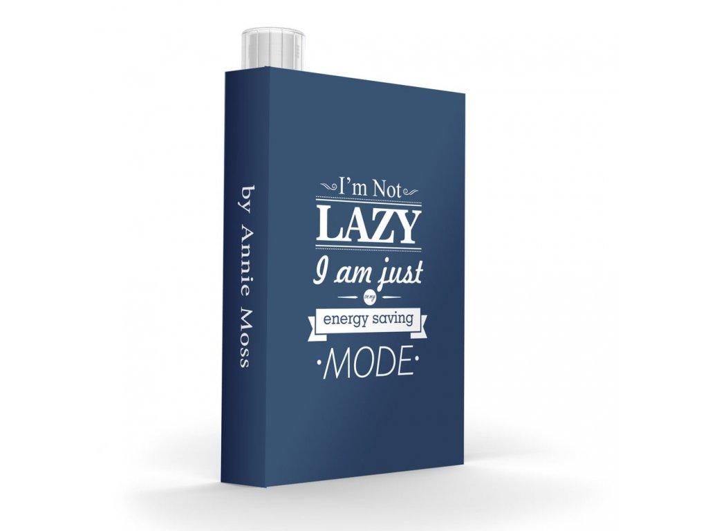 Asobu láhev v knize Lazy
