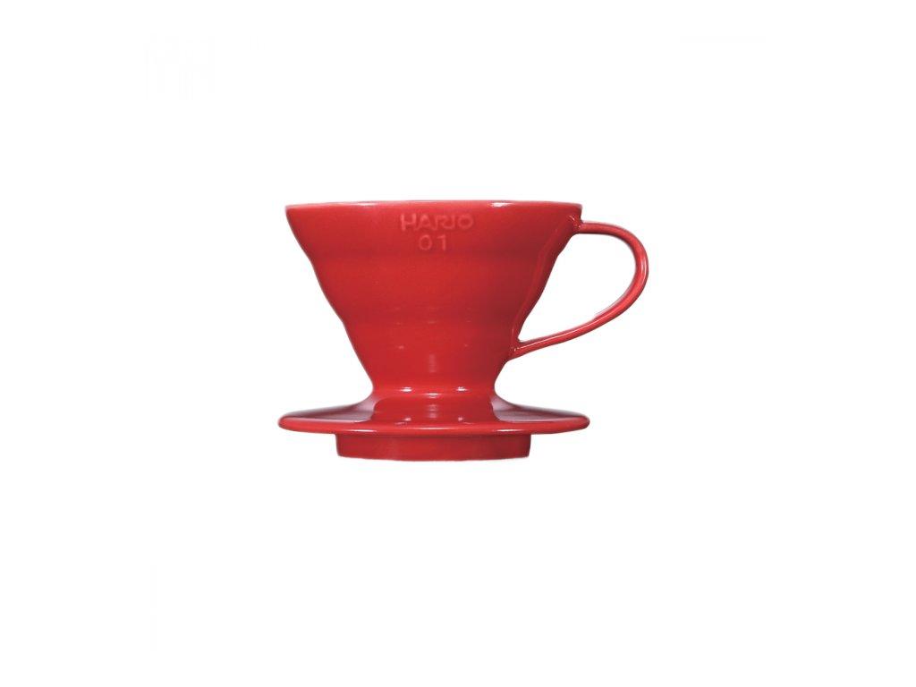 Hario V60-01 červený