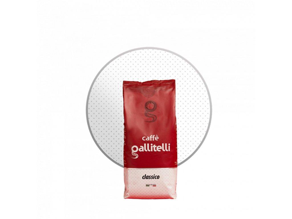 Caffe Galliatelli Classico zrnková káva