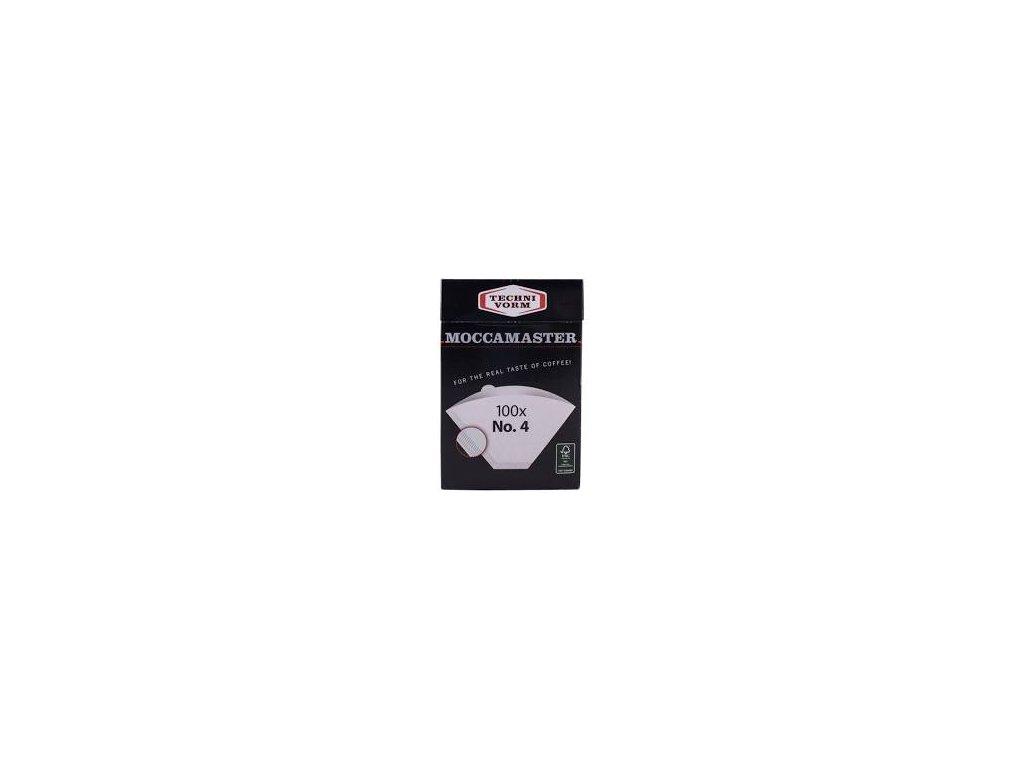 Moccamaster papírové filtry vel. 4 (100 ks)