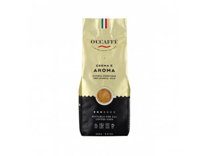 zrnkova kava o ccaffe crema e aroma 100 arabika 250 g