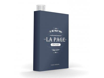 Asobu láhev v knize La Page
