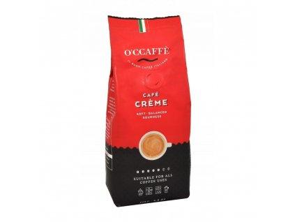 zrnkova kava o ccaffe cafe creme 1 kg