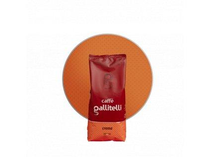 Caffe Galliatelli Crema zrnková káva