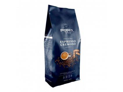 zrnkova kava peppo s espresso cremoso 1 kg