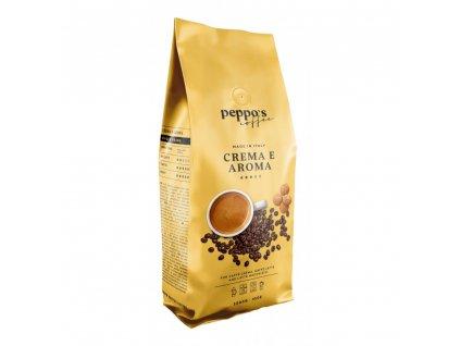 zrnkova kava peppo s crema e aroma 1 kg