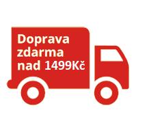 objednávky nad 1499 Kč s dopravou zdarma