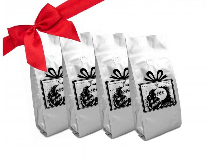 Vánoční degustační balíček malý s mašlí