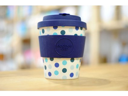 ECOFFEE - Blue Polka (240ml)