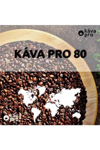 KÁVA PRO 80 - směs arabica&robusta 80/20