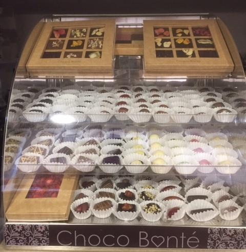 Opět v nabídce pralinky a čokolády