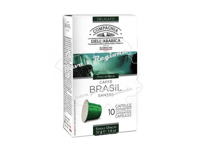 CORSINI kapsle Brasil 10ks 52g