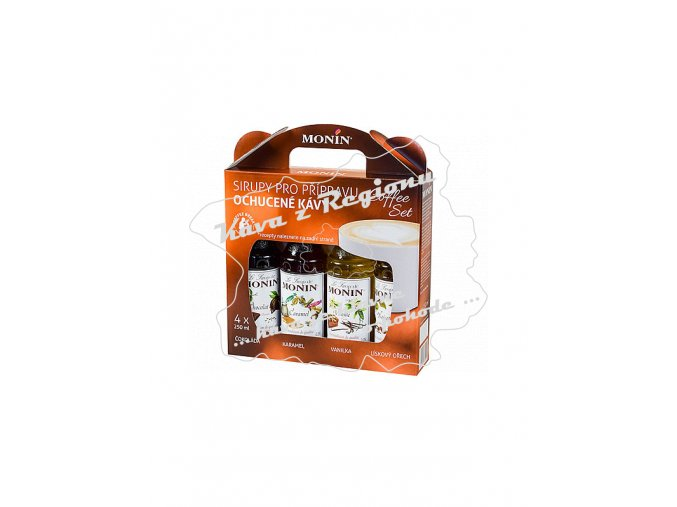 monin coffee box 4l