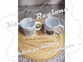 Káva z Regionu Hrneček porcelánový 250 ml