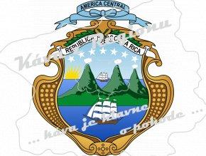 znak Costa Rica