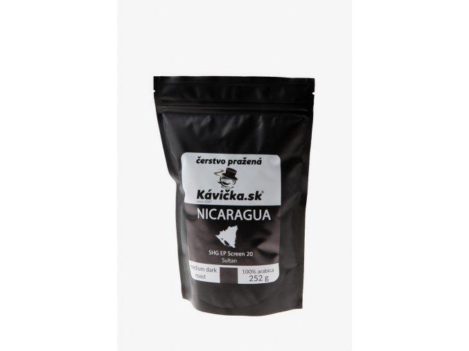 čerstvo pražená káva 250g Nicaragua