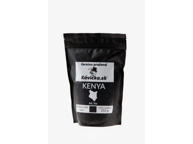čerstvo pražená káva 250g Kenya AA