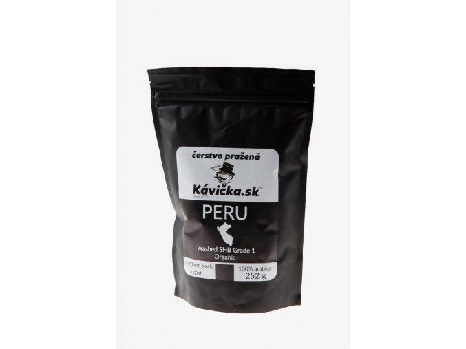 čerstvo pražená káva 250g Peru