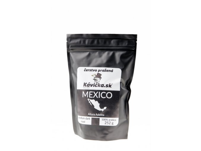 čerstvo pražená káva 250g Mexico Altura Adelita