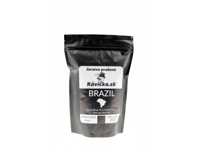 čerstvo pražená káva 250g Brazil Sul De Minas