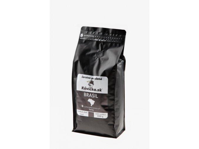 čerstvo pražená káva Brasil Samba 1kg