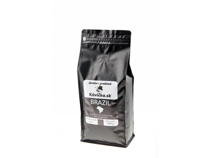 čerstvo pražená káva Brazil Sul De Minas 1kg