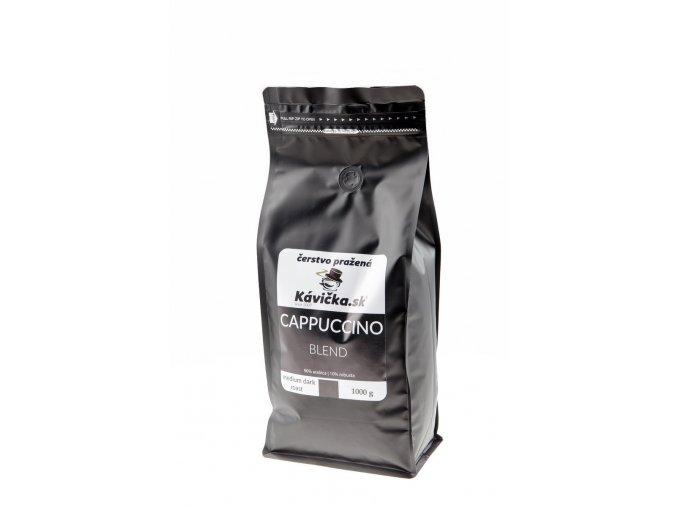 čerstvo pražená káva Cappuccino Blend 1kg