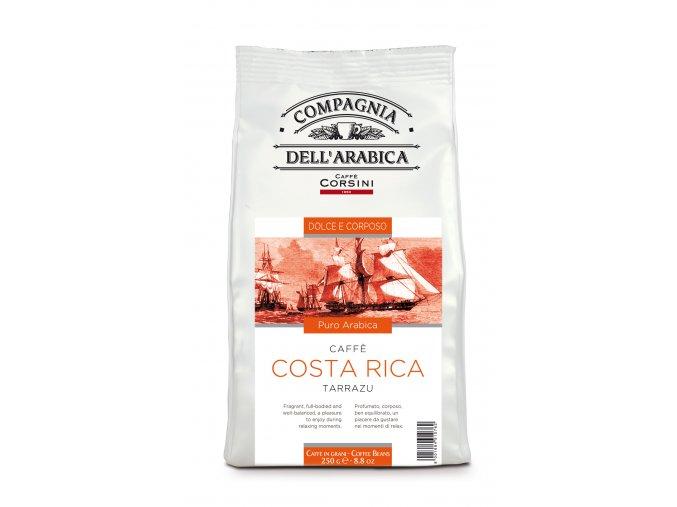 COMPAGNIA Dell ARABICA Costa Rica Tarrazu zrnková káva 250g