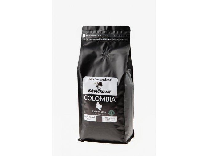 čerstvo pražená káva Colombia 1kg