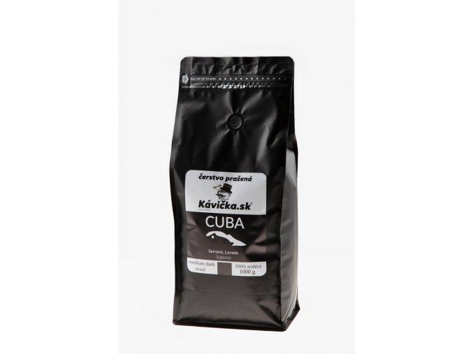 čerstvo pražená káva Cuba 1kg