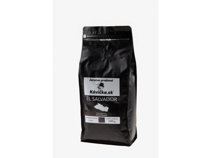 čerstvo pražená káva El Salvador 1kg