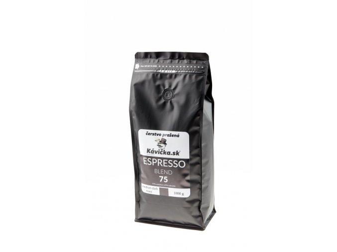 čerstvo pražená káva Espresso Blend 75 1kg