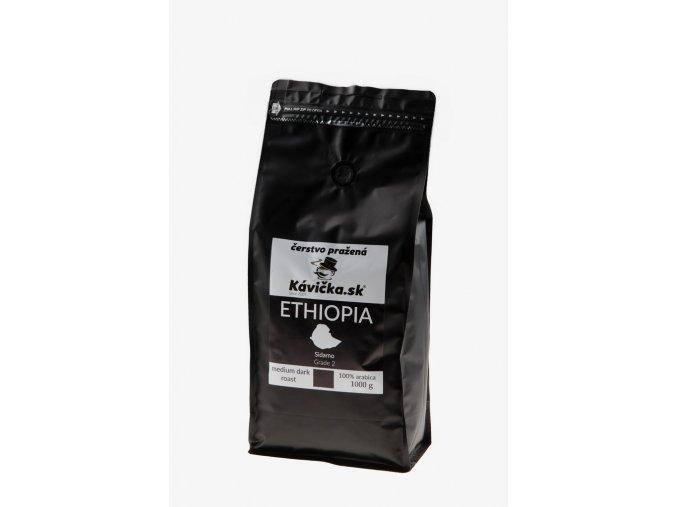 čerstvo pražená káva Ethiopia 1kg