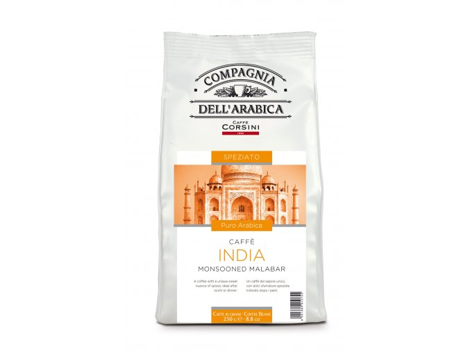 COMPAGNIA DELL ARABICA India Monsooned Malabar zrnková káva 250g