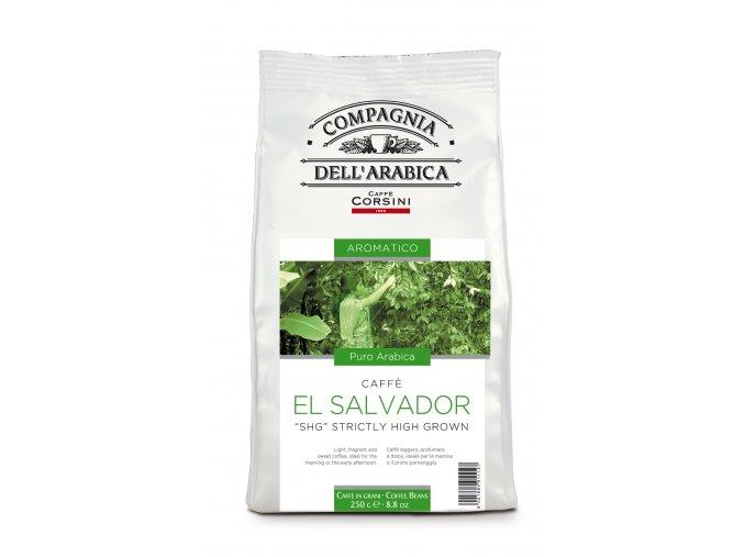 COMPAGNIA DELL ARABICA El Salvador SHG zrnková káva 250g