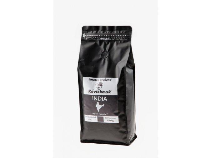 čerstvo pražená káva India 1kg