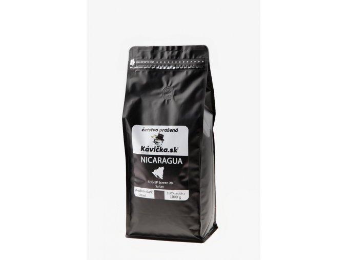 čerstvo pražená káva Nicaragua 1kg
