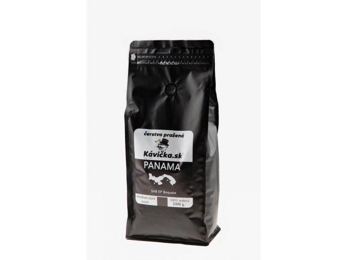 čerstvo pražená káva Panama 1kg