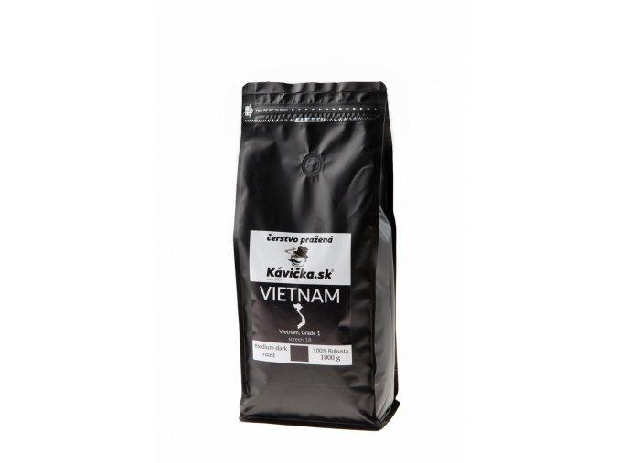 čerstvo pražená káva Vietnam 1kg