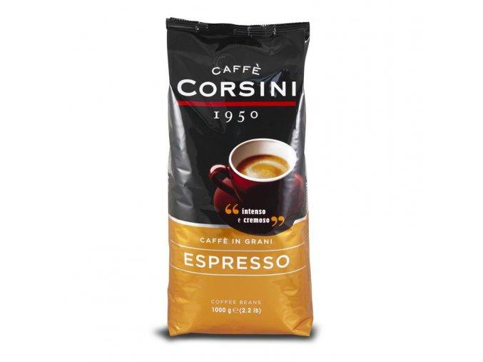 CORSINI Espresso zrnková káva 1kg
